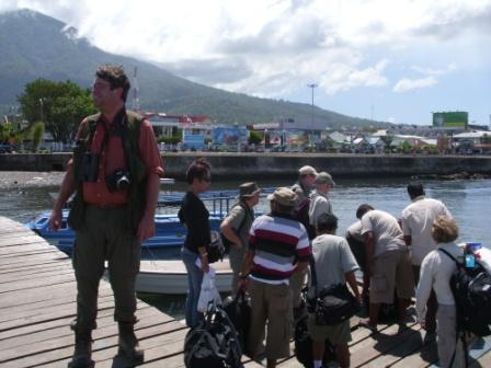 Crossing to the Sidangoli by Boat at ternate