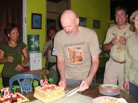 Fred Otero's Birth Day at Tangkoko