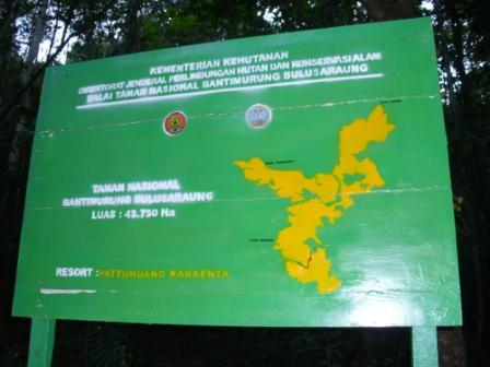 Map Of Karaenta Forest