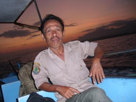 Mr Bardianto the Guide in Gilimanuk