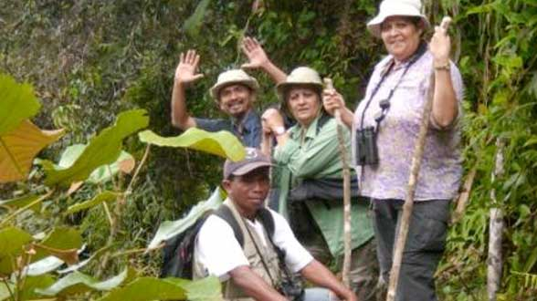 Marion Jackson and Pamela De Zilva Birding on Sulawesi and Halmahera